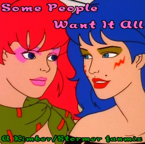 Some People Want It All - A Kimber-Stormer fanmix cover