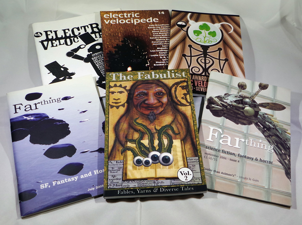 Random Magazine Back Issue Grab Bag #1 – Con or Bust Archive