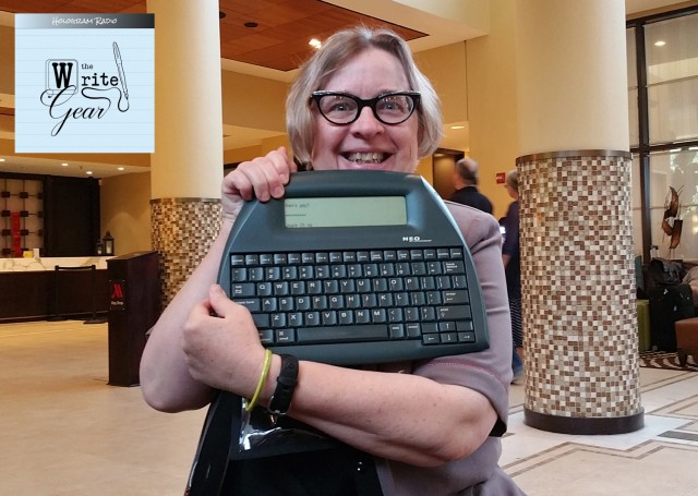Alphasmart and Jennifer Stevenson