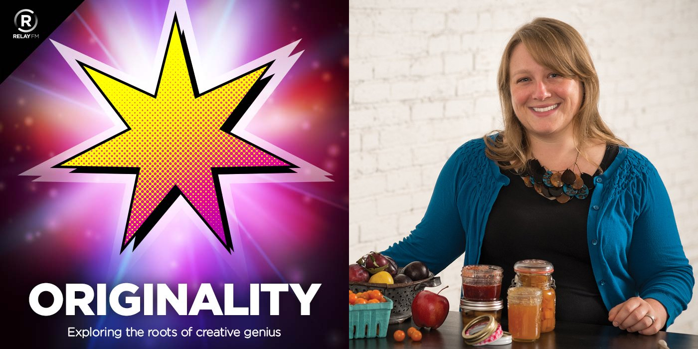ORIGINALITY logo with image of Marisa McClellan