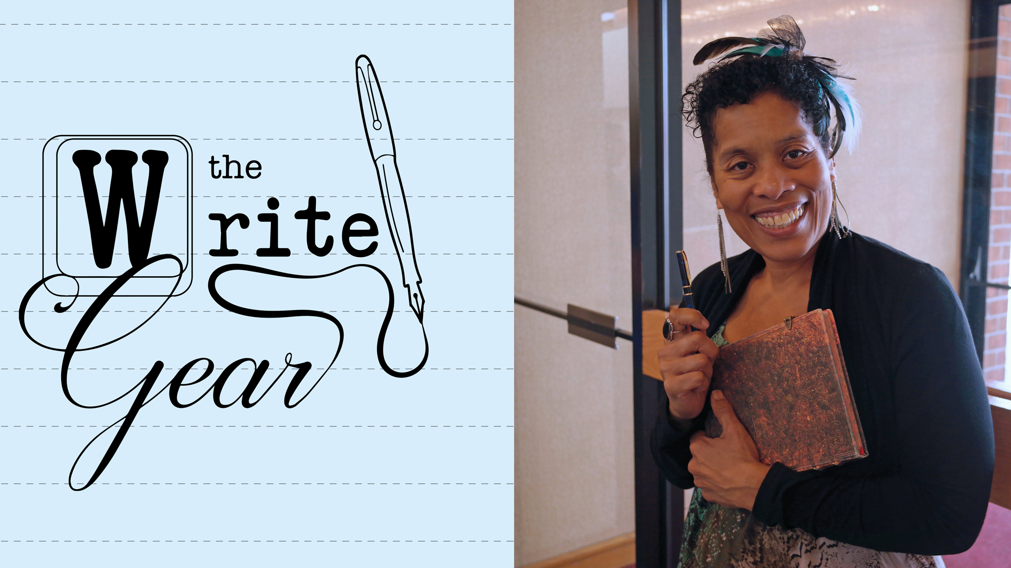 Write Gear episode 3 The Whole Body Is The Mind A conversation with Andrea Hairston
