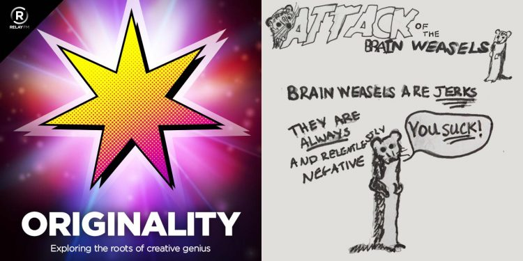 Originality 21 Irrational Brain Weasels with comic by Dr Jane Charlesworth